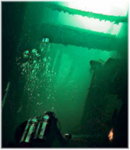 Wreck Diving Subic Bay USS New York