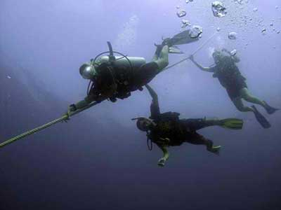 Scuba Diving Buoyancy