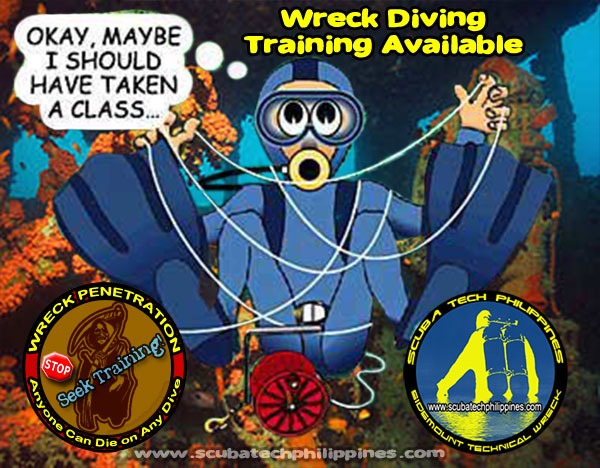 Wreck-Diving Lessons Subic Bay Philippines