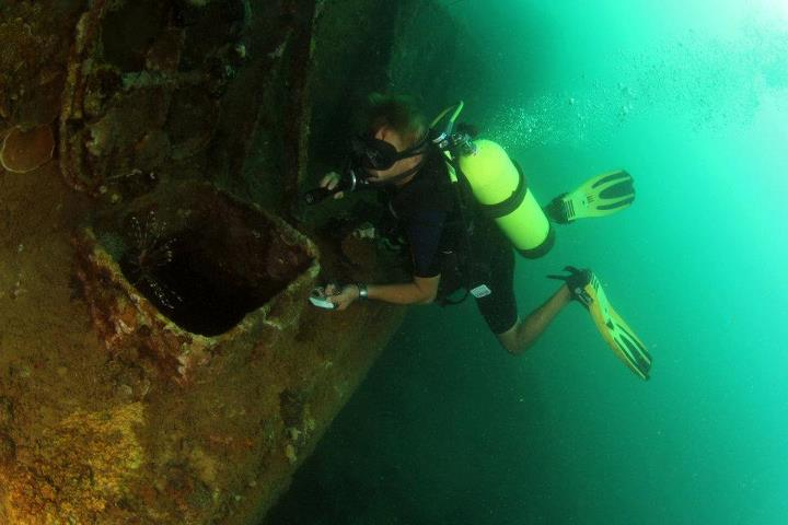Subic Bay Wreck Diving Philippines