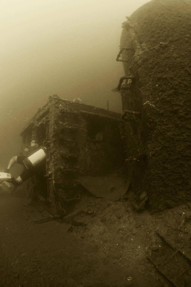 scuba tech philippines wreck diving subic bay