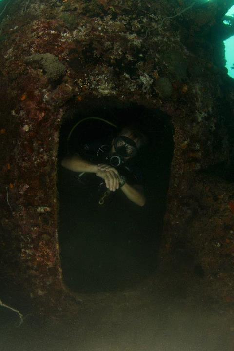 Wreck Diving Subic Bay Philippines