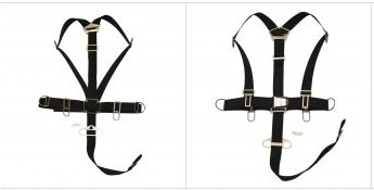 minimalist sidemount harness equipment