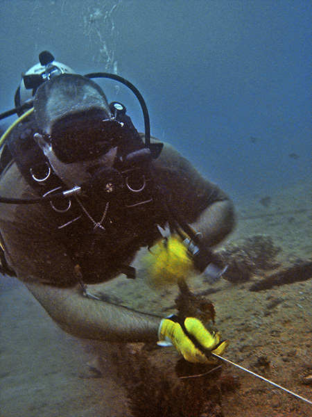 wreck diving course black mask zero visibility guideline drills