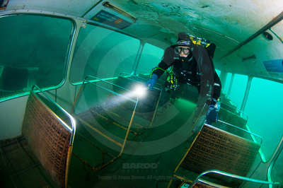wreck diving course penetration overhead environment