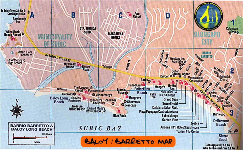 baloy-barretto-subic bay travel map