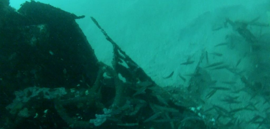 C-47 DC-3 Skytrain Dakota wreck subic bay philippines