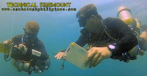 Technical Sidemount Wreck Instructor Philippines