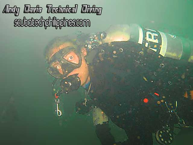 Custom Divers TDB Technical Wing Trimix Diving Philippines