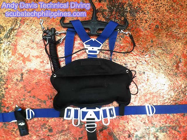 homemade diy sidemount rig harness system