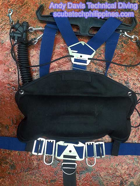 Make your own sidemount harness DIY homemade scuba diving technical