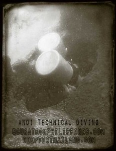 sidemount overhead environment wreck diving restrictions