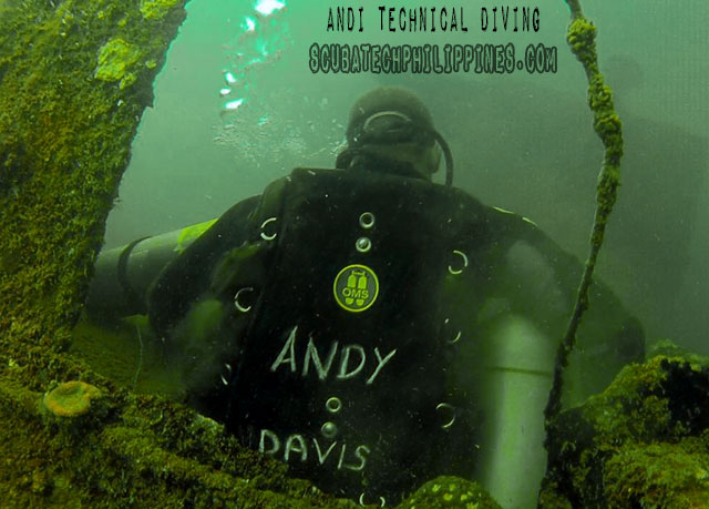 Andy-Davis-Technical-Sidemount Diving-Courses Philippines