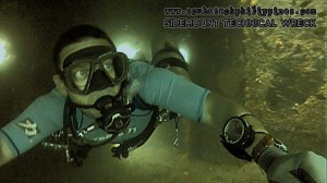 sidemount-wreck diving restrictions