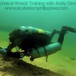 ANDI Techniques of Wreck Diving Course Philippines