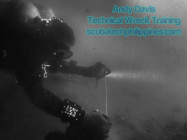 technical-wreck-diving training philippines