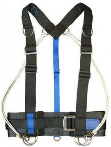 warmbac asm sidemount harness