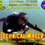 technical wreck course, subic bay, philippines