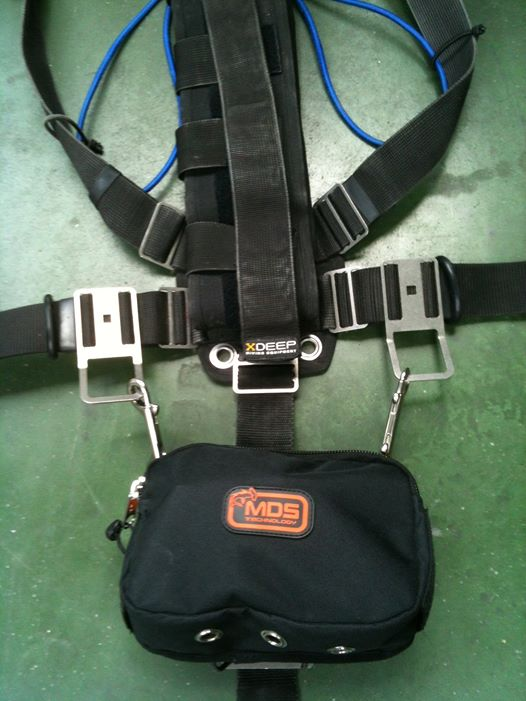 sidemount diving pouch