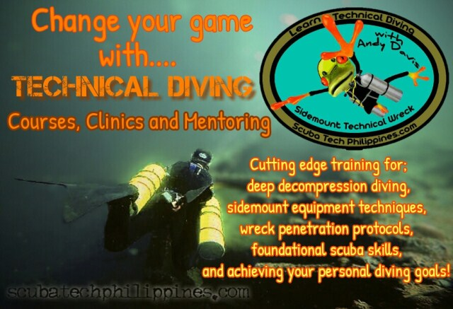 Andy Davis technical diving courses subic bay philippines