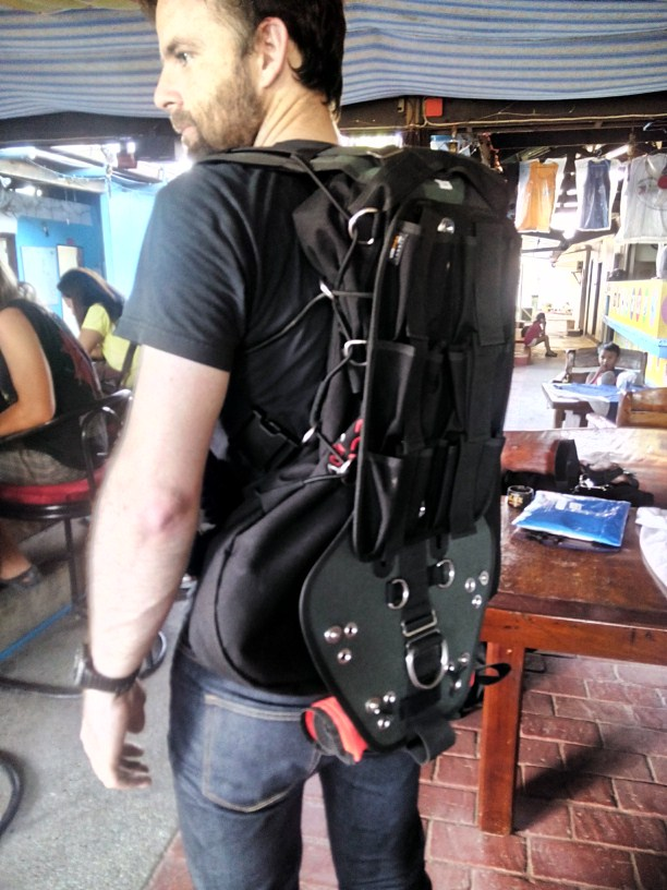 sms100 sidemount modified american Florida cave school
