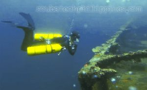 technical diving philippines subic bay courses instructor