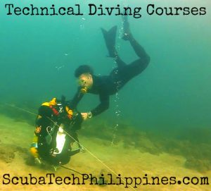 technical diving courses philippines subic bay instructor