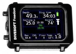 Divesoft freedom technical diving computer