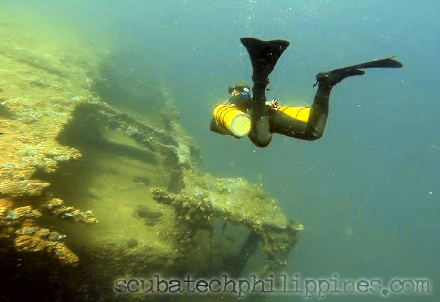 sidemount technical diving training course subic bay
