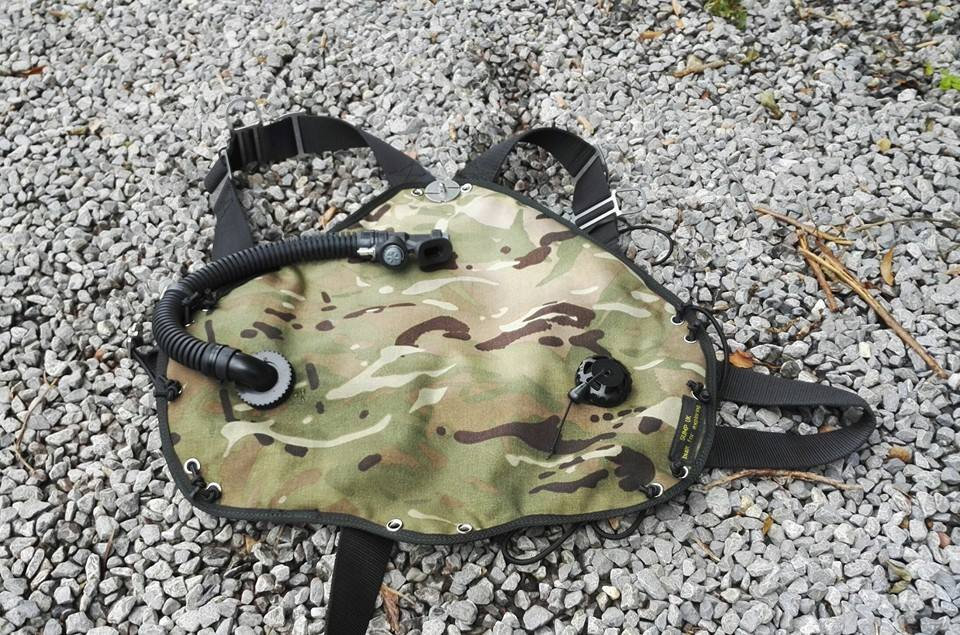 sump uk sidemount camo wing
