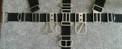 sump uk sidemount harness hardware options