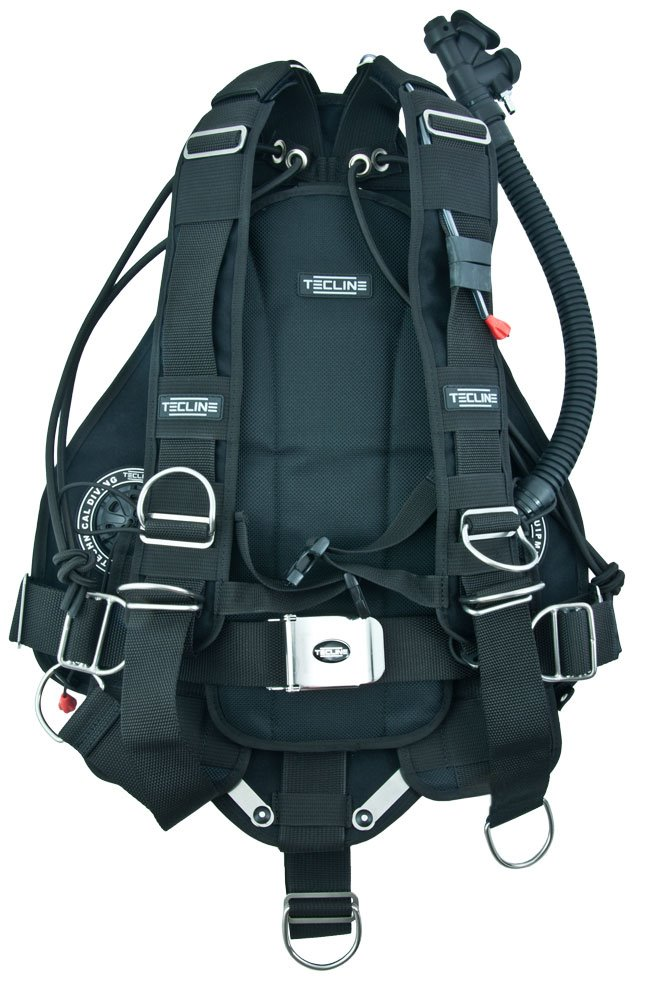 tecline side 16 sidemount BCD inside
