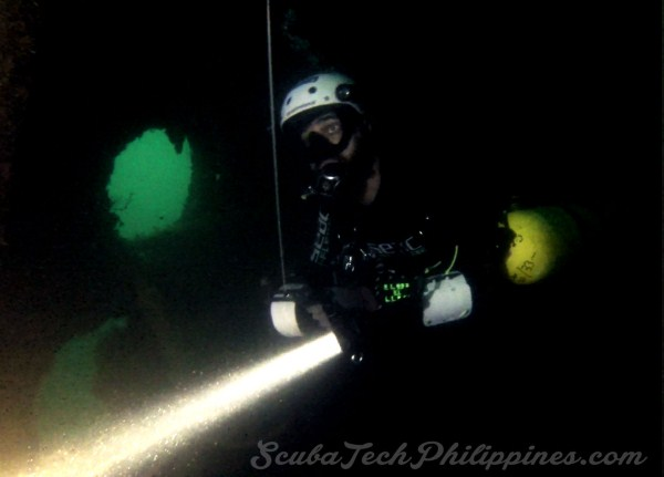 wreck technical diving course philippines