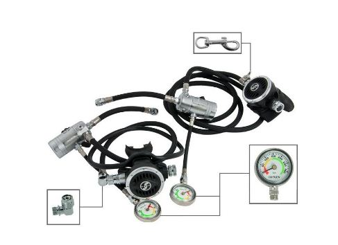 Tecline Sidemount Regulators