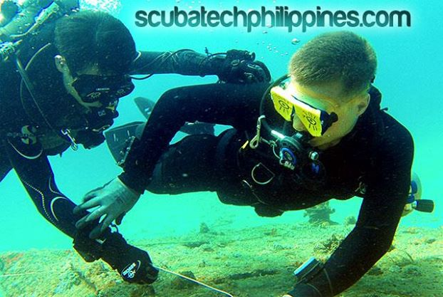 scuba diving training wreck course philippines subic