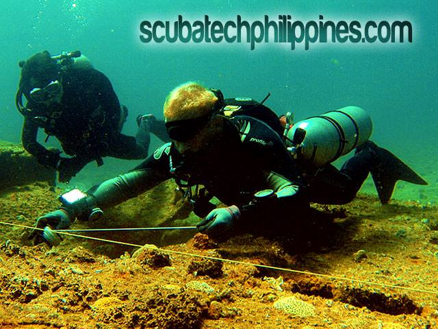 scuba diving training advanced wreck subic philippines