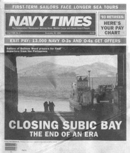History of Subic Bay