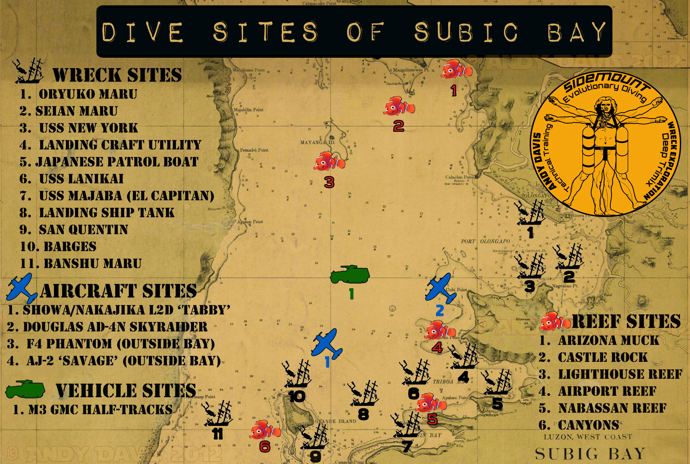 Subic Bay Dive Sites   Map and Descriptions   Wreck Diving on prehistoric maps, 17th century maps, groundwater maps, high quality maps, geoportal maps, pyramids ancient egypt maps, stone maps, shipping maps, pathfinder rpg maps, role playing maps, social studies maps, treasure maps, disease maps, ham radio maps, teaching maps, fictional maps, fill in the blank maps, unusual maps, minecraft mine maps,