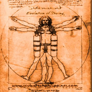 Sidemount Diving Vitruvian
