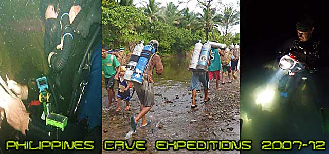 cave diving expeditions asia