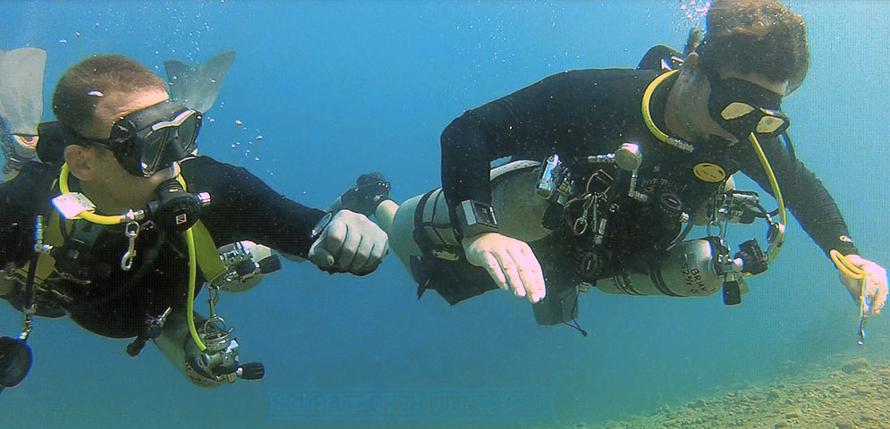 Sidemount Tec40 technical diving course philippines