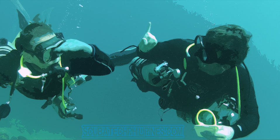 Subic Bay Philippines Wreck Sidemount Technical Diving