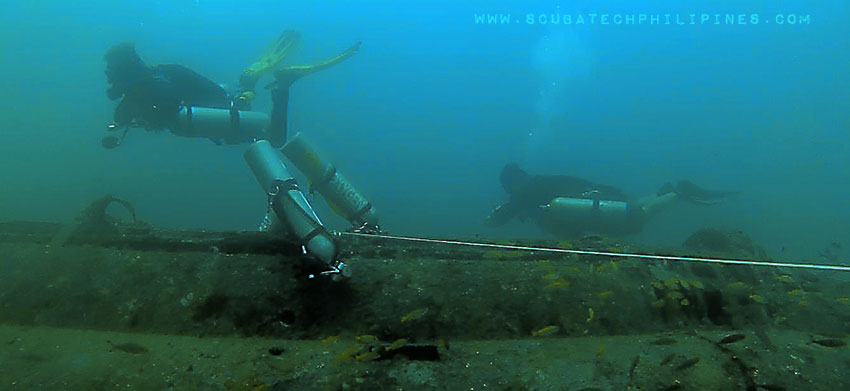Technical Sidemount Diving Philippines