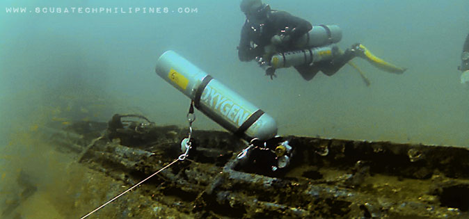 Sidemount Technical Diving Philippines
