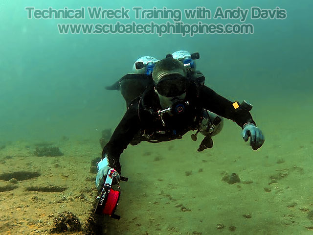 wreck diving training philippines