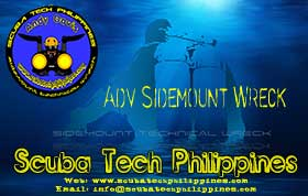 advanced-sidemount-wreck diving course