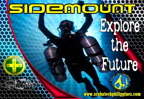 sidemount diving course subic bay philippines