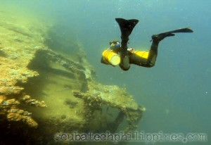wreck diving course philippines