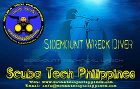 sidemount wreck diving course