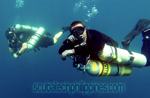 technical diving sidemount course philippines